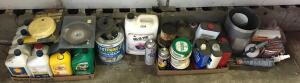 Lot of Garage Fluids
