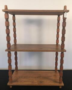 3 Level Wooden Shelf
