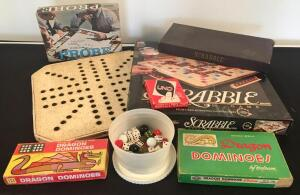 Lot of Assorted Vintage Board Games