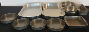 Lot of Assorted Metal Bakeware