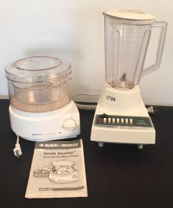 Blender and Steamer