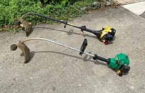 Lot of 2 String Trimmers
