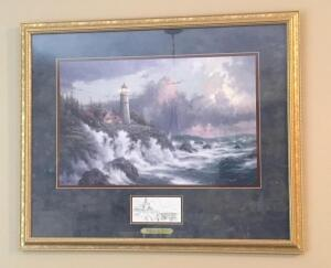 Thomas Kinkade Picture and Tapestry