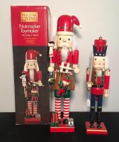 Lot of 2 Holiday Nutcrackers