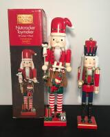 Lot of 2 Holiday Nutcrackers - 2