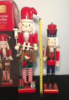 Lot of 2 Holiday Nutcrackers - 3