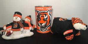 Bengals Bears and Trash Can