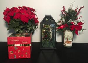 Lot of Holiday Decor Items