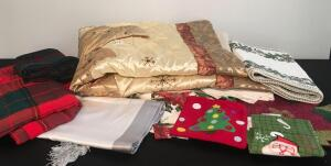 Lot of Holiday Soft Goods