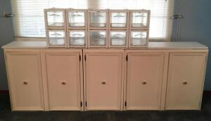 Storage Drawers & Cabinet