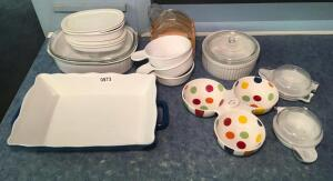 Corning Ware & Misc Baking Items