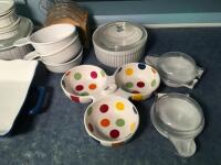 Corning Ware & Misc Baking Items - 2