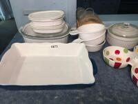 Corning Ware & Misc Baking Items - 3