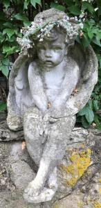 Concrete Angel Statue