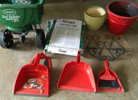 Scott's Spreader, Potting Soil, Dust Pans, Etc. - 4