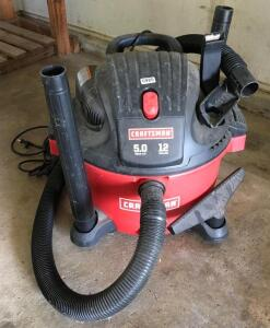 Craftsman 12 Gallon 5.0 Vacuum
