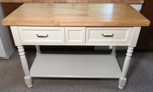 Kitchen Island With Butcher Top