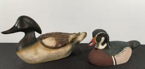 Pair of Duck Statues