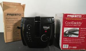 Presto Cool Daddy Deep Fryer & Extra Filters