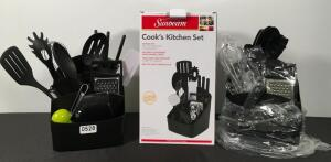 Lot of 2 Cooks Kitchen Sets