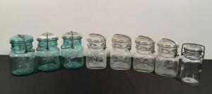 Vintage Bail Top Ball Canning Jars