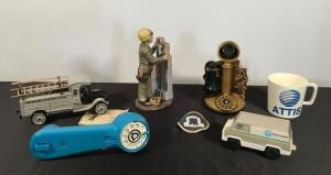 Lot of Bell & Other Telephone Collectibles