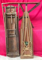 Lot of 3 Wooden Ironing Boards - 2