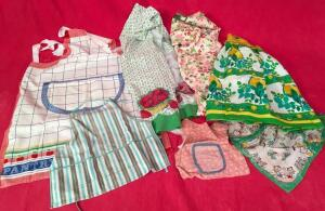 Lot of Mother/Daughter Aprons