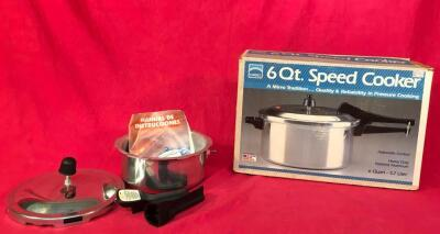 Pair of New Pressure Cookers