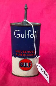 Gulfoil 4oz. Vintage Household Lubricant