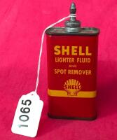 Vintage Shell 4oz. Lighter Fluid and Spot Remover