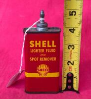 Vintage Shell 4oz. Lighter Fluid and Spot Remover - 3