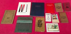 1929 Tiffin Yearbook and Other Vintage Books/Manuals