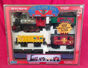 The Classic Rail Battery Operated Train Set