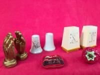 Lot of Vintage Salt and Pepper Shakers - 2