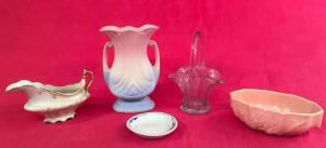 Lot of Assorted Glassware and Pottery