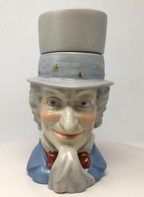 Uncle Sam Lidded Stein