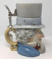 Uncle Sam Lidded Stein - 5