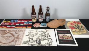 Wooden Shoe Brewery and Related Items