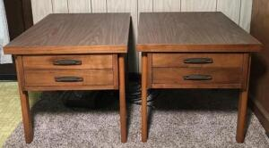 Virginia Made by Lane 3 Piece Coffee Table & End Tables