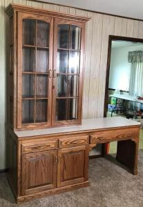 2 Piece Hutch w/ Desk