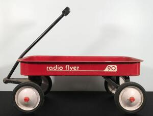 Radio Flyer Little Red Wagon No. 90