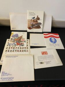 Lot of Assorted U.S. Commemorative Stamps sets and Misc.