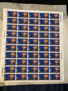 Lot of Vintage Sleepy Hollow Halloween Stamps