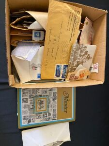 Large Lot of Circulated and Foreign Stamps and Misc.