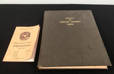 Shelby County History Reprint and Sesquicentennial Program
