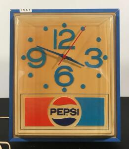 Vintage Pepsi Clock *See Description