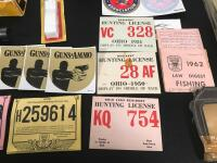 Gun Cleaning Kits, Vintage Hunting License, Scope and Related Items - 4