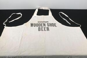 Wooden Shoe Bar Apron