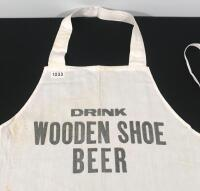Wooden Shoe Bar Apron - 2
